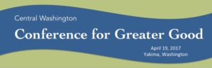 Central Washington Conference for Greater Good logo