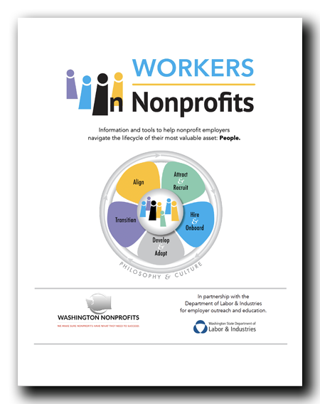 Cover to the Workers in Nonprofits Guide
